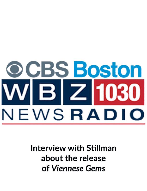 CBS Boston Radio interviews Stillman about